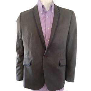 Ted Baker Grey Wool Blazer Size 5 fits XL 42